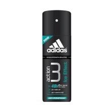 Adidas Action 3 Ice Effect Antiperspirant 150ml miehille 75299