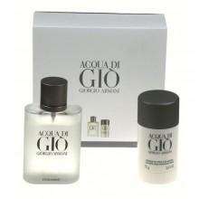 Giorgio Armani Acqua di Gio Edt 100ml + 75ml deo stick miehille 95844
