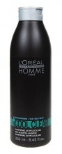 L´Oreal Paris Homme Cool Clear Shampoo Cosmetic 250ml miehille 42477