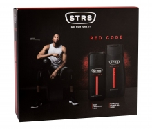 STR8 Red Code Deodorant 75 ml + Shower Gel 250 ml miehille 05674