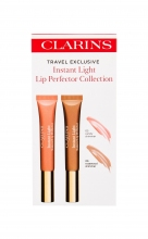 Clarins Instant Light Lip Gloss 12 ml + Lip Gloss 12 ml 06 Rosewood Shimmer 05 Candy Shimmer naisille 14285