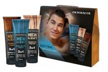 Dermacol Men Agent Shower Gel Gentleman Touch 250 ml + Shower Gel Sensitive Feeling 250 ml + Shower Gel Extreme Clean 250 ml miehille 10723