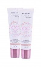 Lumene Nordic Chic Nordic Chic CC Cream SPF20 Duo Kit 2 x 30 ml Medium naisille 28283