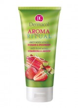 Dermacol Aroma Ritual Body Lotion Rhubarb&Strawberry Cosmetic 200ml naisille 08768