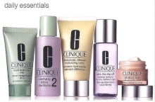 Clinique All About Eyes 50ml DDML + 15ml All About Eyes + 30ml Liquid Facial Soap Mild + 60ml Clarifying Lotion 2 + 50ml Take the Day Off Makeup Rem naisille 44467