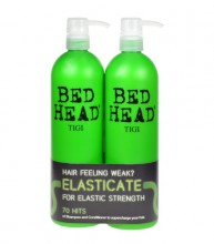 Tigi Bed Head Elasticate 750m Bed Head Elasticate Strengthening Shampoo + 750ml Bed Head Elasticate Strengthening Conditioner naisille 60419