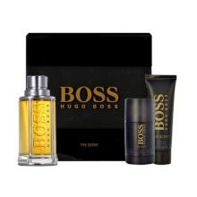 HUGO BOSS Boss The Scent Edt 100ml + 50ml shower gel + 75ml deo stick miehille 55776