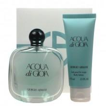 Giorgio Armani Acqua di Gioia Edp 100ml + 75ml Body lotion naisille 04010