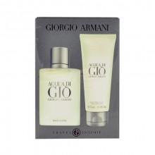 Giorgio Armani Acqua di Gio Edt 50ml + 75ml aftershave balm miehille 02290
