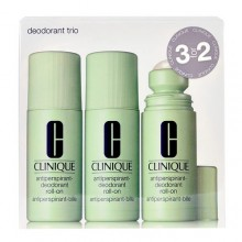 Clinique Deodorant Trio 3x 75 ml Antiperspirant-Deodorant Roll-On naisille 20802